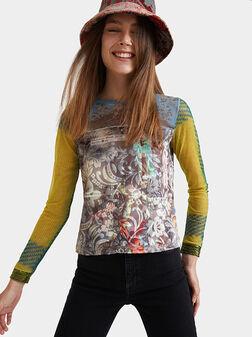 Arty slim t-shirt - 1