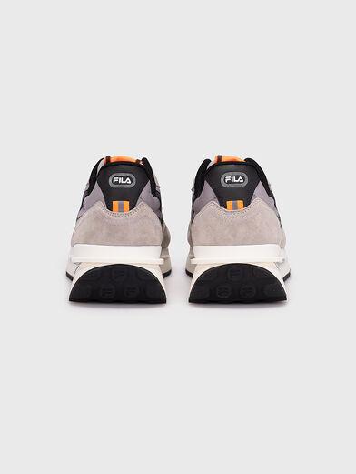 Black sneakers REGGIO - 4