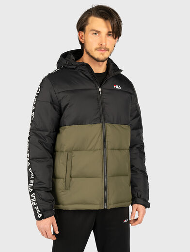 TANNER Jacket in green and black - 2