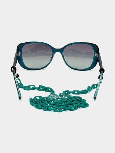 Green sunglasses - 4