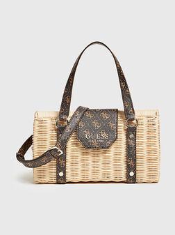 PALOMA Handbag with logo print - 1