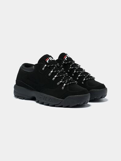 DISRUPTOR HIKER Black sneakers with logo details - 2