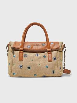 Чанта JULY с бродерии - 1