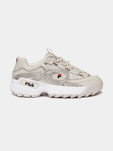 D-FORMATION Sneakers with animal print - 1