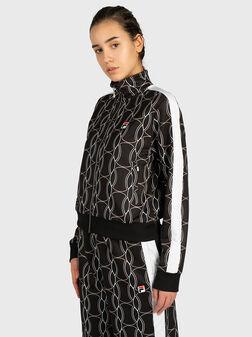 HADA Sweatshirt with contrasting print - 1
