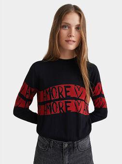 Knit jumper amore - 1
