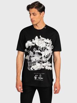 T-shirt with maxi print - 1