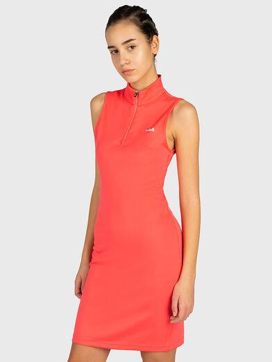 CEARA Dress with a zip neckline - 1