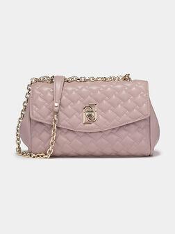 Чанта в цвят пепел от рози - 1