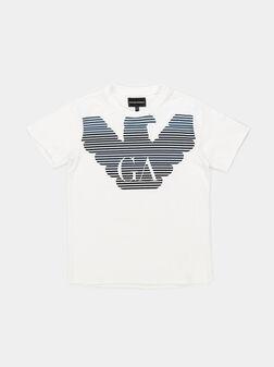 T-shirt with logo print - 1