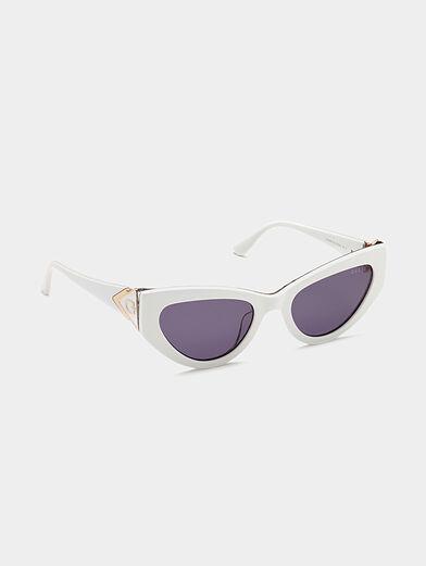 Sun glasses with animal print - 6