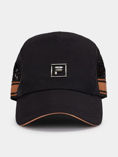 Black cap with logo - 1