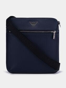 Crossbody bag with metal logo - 1