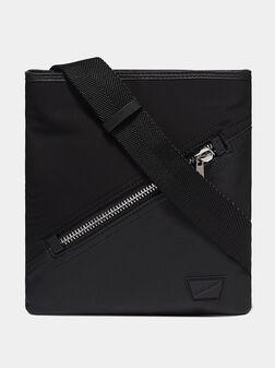 Кросбоди чанта със сафиано ефект - 1