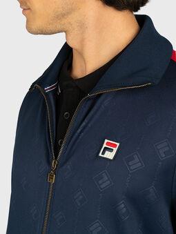 HANK Sweatshirt in blue - 4