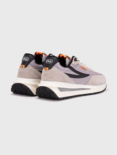 Black sneakers REGGIO - 3