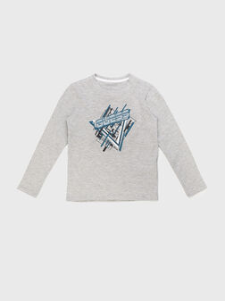 Блуза с лого - 1