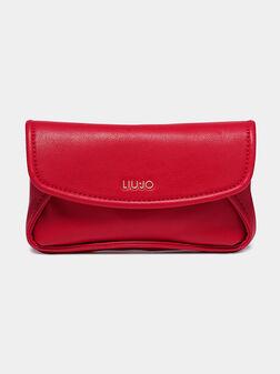 Чанта за кръст в червен цвят - 1