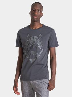 Тениска с животински принт - 1