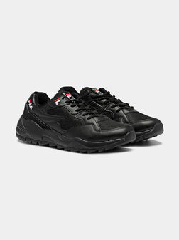 VAULT CMR JOGGER L LOW Black sneakers with rubber inserts - 1