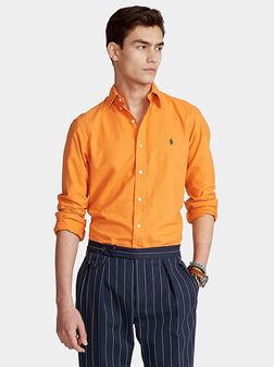 Cotton Oxford shirt - 1