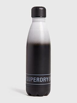 Метална бутилка в черен цвят - 1