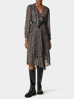 Asymmetric dress HILARY - 1