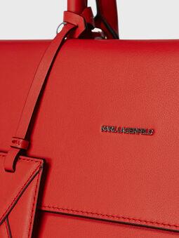 K/IKON Leather top handle bag - 5
