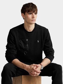 Black sweatshirt - 1