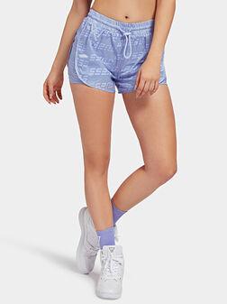 Къси панталони с лого принт - 1