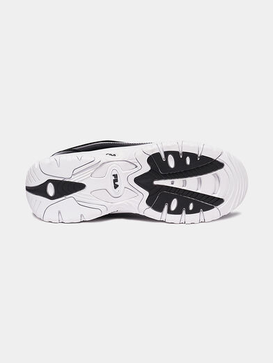 STRADA F White sneakers with glossy finish - 5