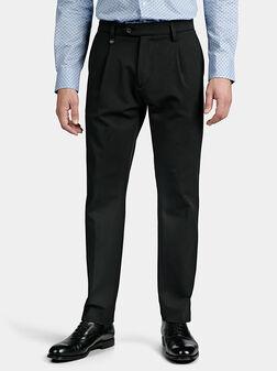 Черен панталон QUENTIN - 1