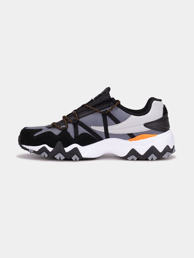 TRAIL-R CB Sneakers with mix of textures - 5