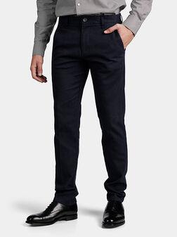 Панталон MYRON в тъмно син цвят - 1