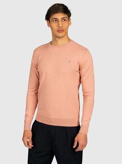 Пуловер JARRETT в розов цвят - 1