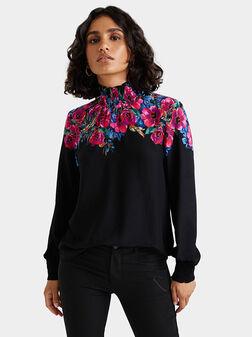 Блуза PETUNIA с флорални мотиви - 1