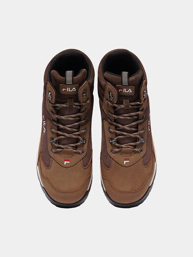 ALPHA MID Black high-top sneakers - 6