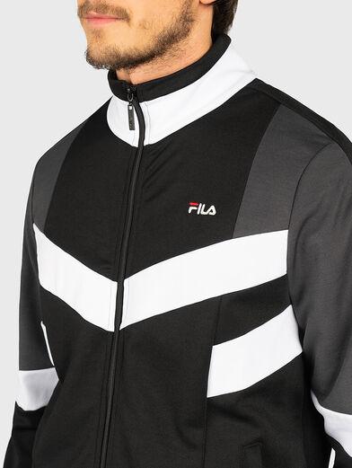 BATSON Sweatshirt with contrasting inserts - 2