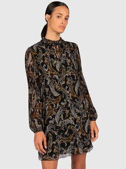 Dress with paisley print - 1