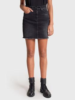 SECRET GLAMOUR Denim skirt with push-in effect - 1