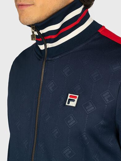 HANK Sweatshirt in blue - 2