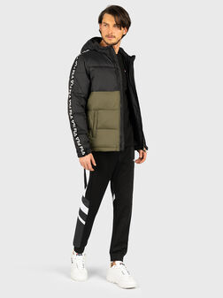 TANNER Jacket in green and black - 1