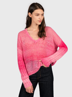 ARIANE Sweater in pink - 1