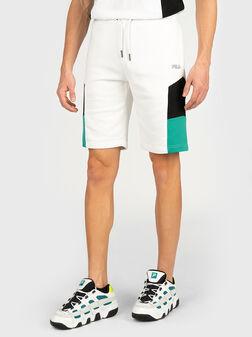 Бели къси панталони JUDA - 1