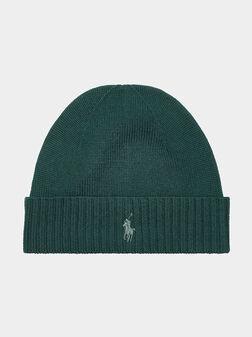 Hat from merino wool - 1