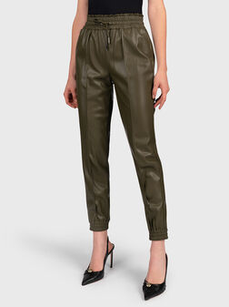 LETIZIA Pant from eco leather - 1