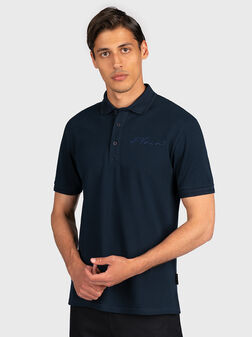 Polo shirt with signature - 1