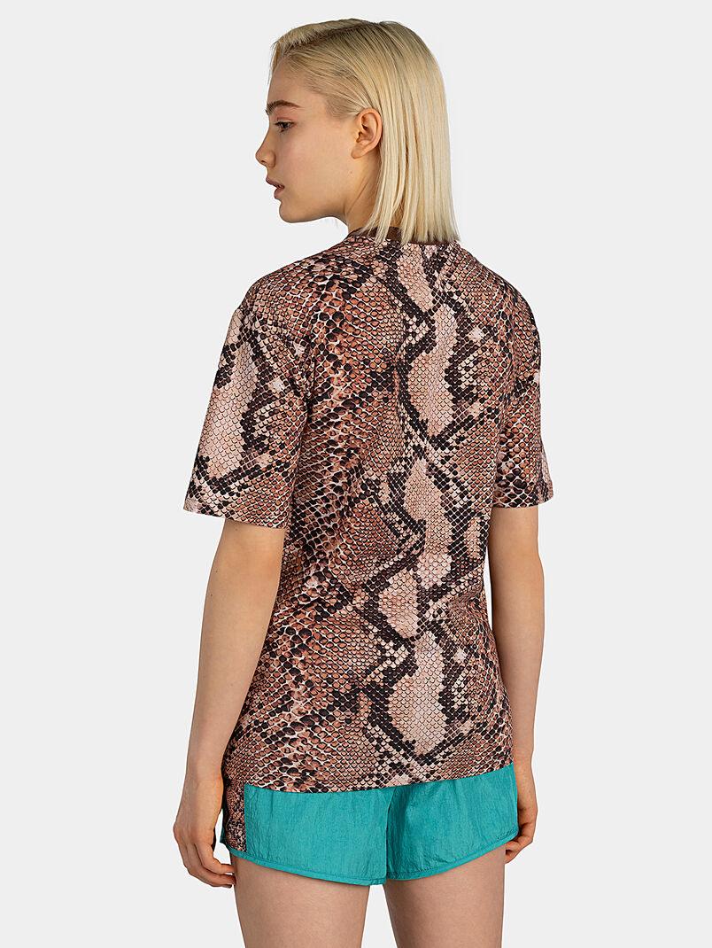 NERO T-shirt with snakeskin print - 3