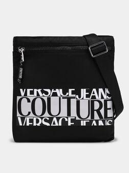 Кросбоди чанта с лого принт - 1