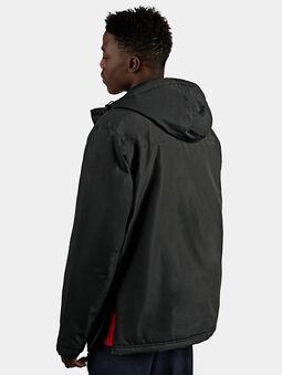 MICHIROU Hooded anorak in black color - 4
